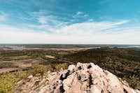 Pinnacle Mountain view of Arkansas River