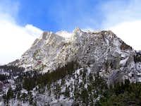 Passing by Thor peak descending Whitney in November