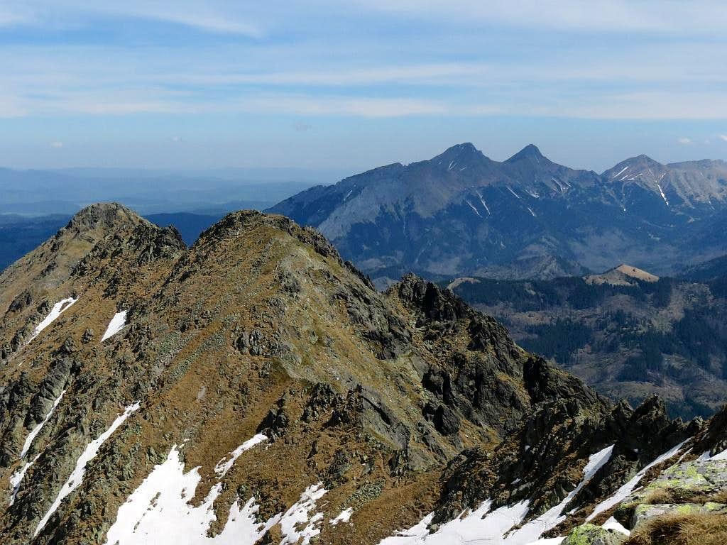 Summits of Wołoszyn and Tatry Bielskie