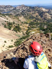 From on top of Pilot Pinnacle