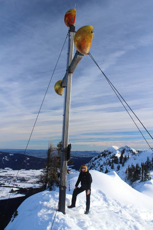 Xmas in Ruhpolding: Summit of Rauschberg (1672m)