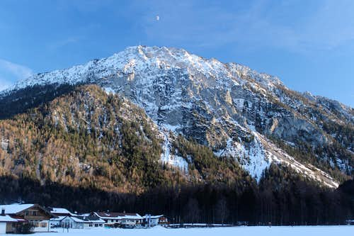 Xmas in Ruhpolding: Rauschberg (1672m) late afternoon
