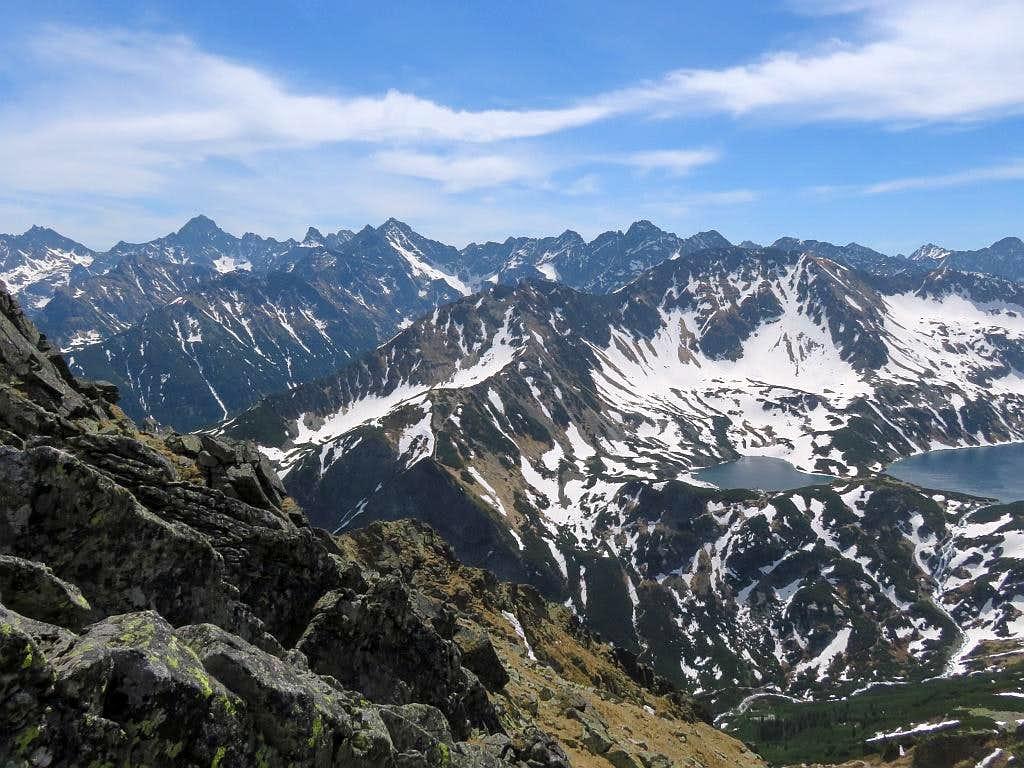 Post - glacial relifef of High Tatras