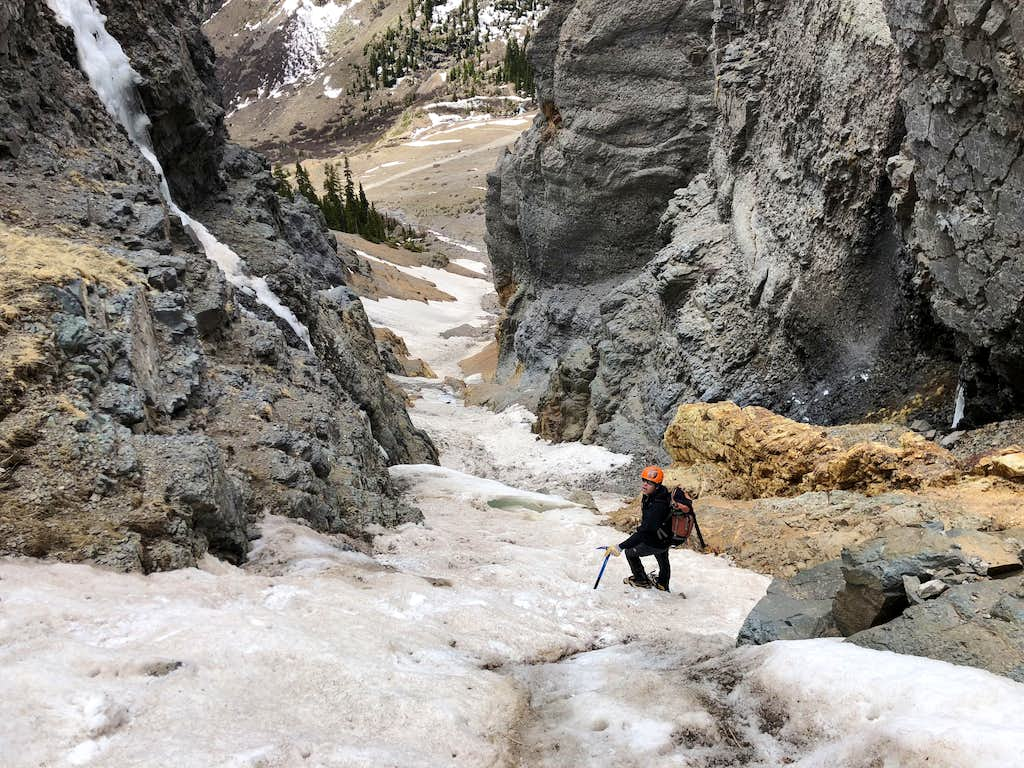 Descend of South Gully