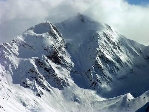 La parete nord del monte...