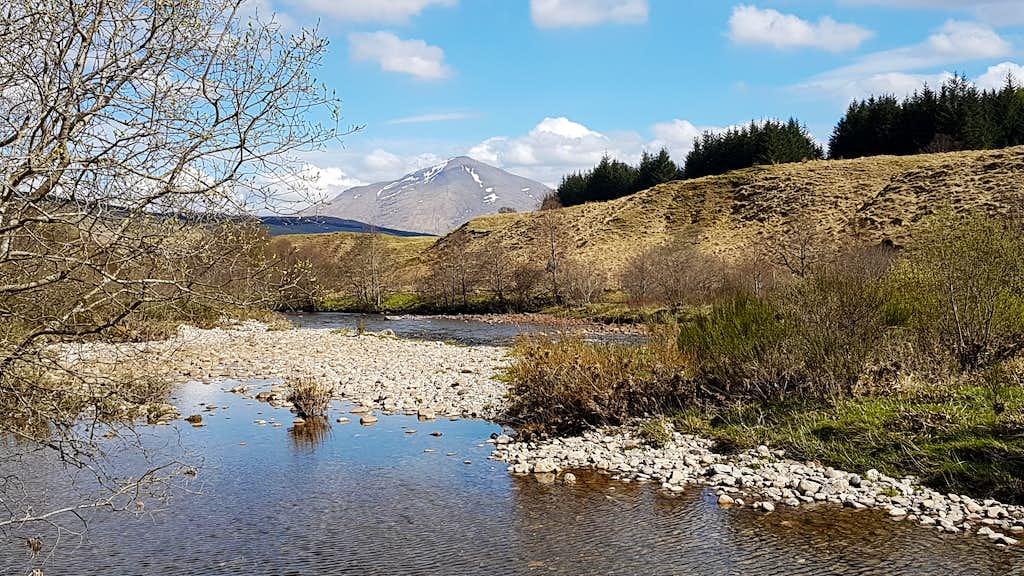 Ben More over the River Fillan