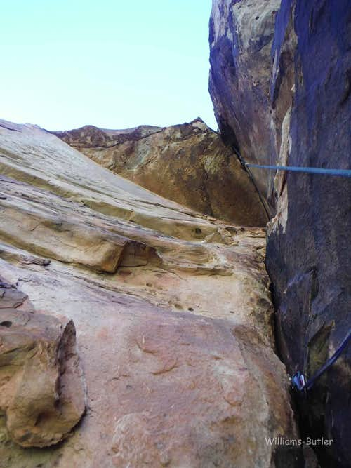 The Wasp, 5.10, 2 Pitches