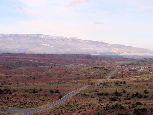 Route 24 from Cooks Mesa