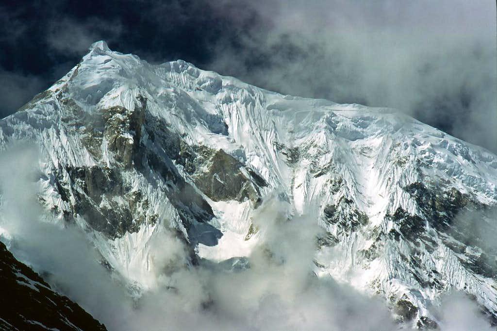 East face of Langtang Lirung