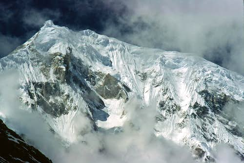 East face of Langtang Lirung