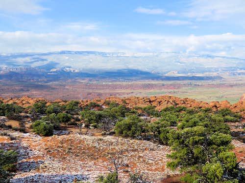 Boulder Mountain (plateau) from Meeks Mesa