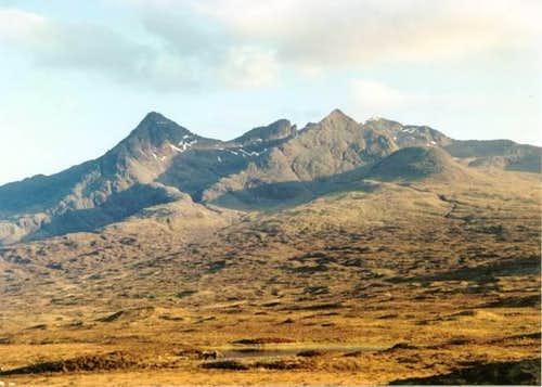 South east ridge of Sgurr nan Gillean