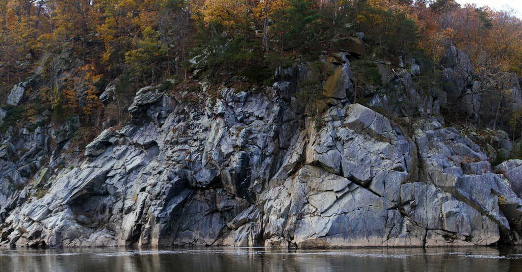 Echo Rock from Bear Island