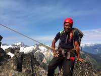 On Hidden Peak, Albert Icefield, Southern Selkirks, BC, Canada