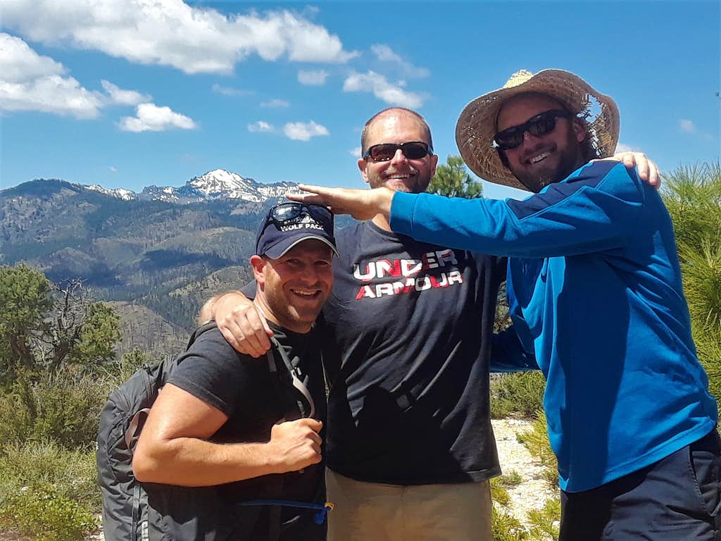 The boys on the summit