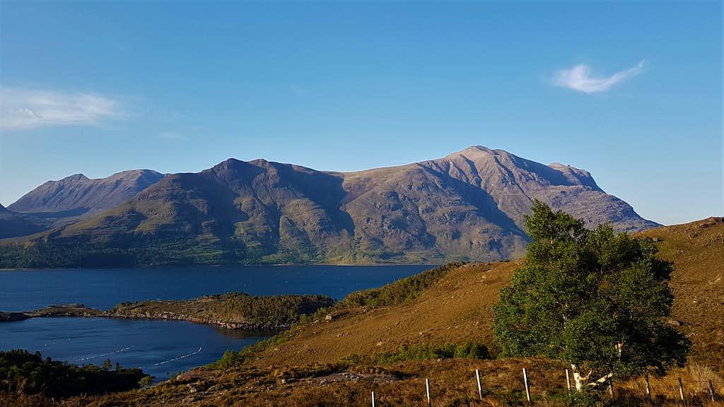 Liathach over Loch Torridon