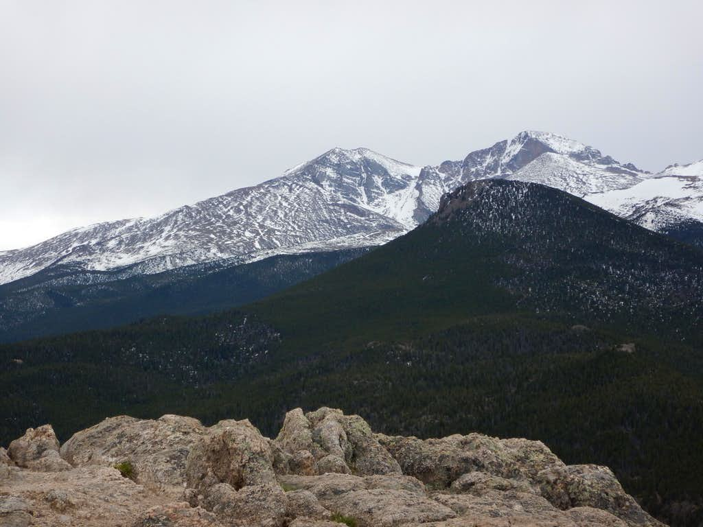View from Lily Mountain