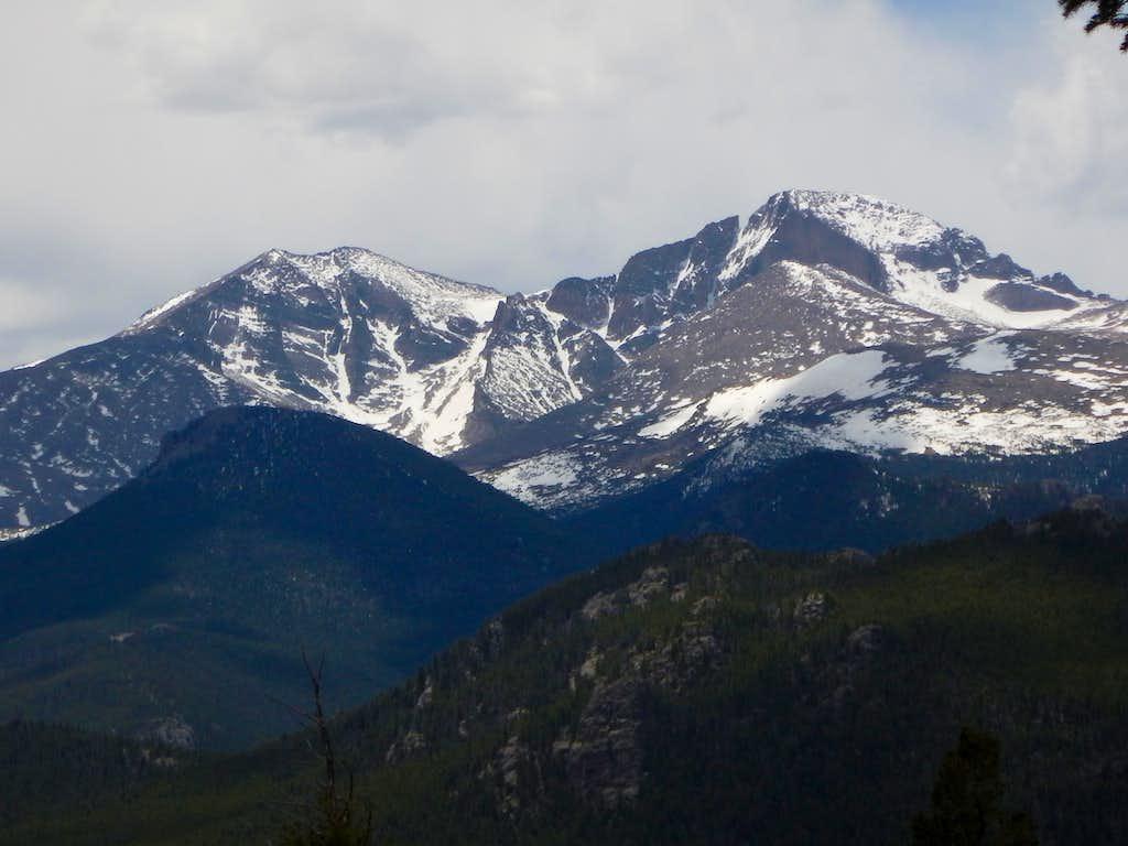 Longs Peak and Mount Meeker