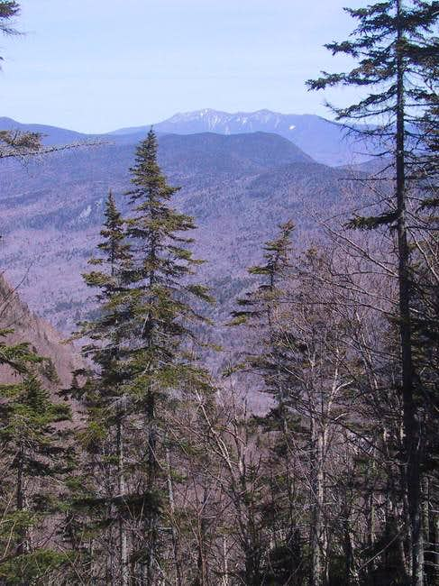 View toward Franconia Ridge...