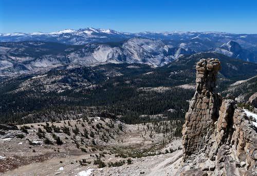 SE View from Hoffman Summit Ridge