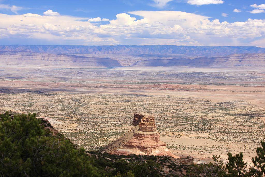 San Rafael Swell - view from Cedar Mountain