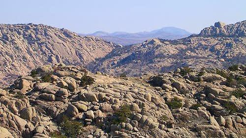 Mt. Scott (in distance) as...