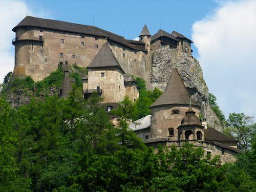 Orava Castle Hill