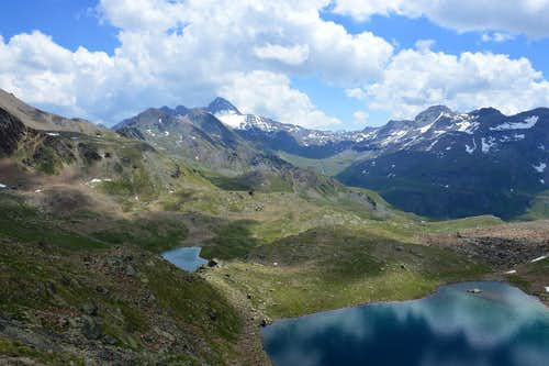 Lussert Lakes and Punta Tersiva
