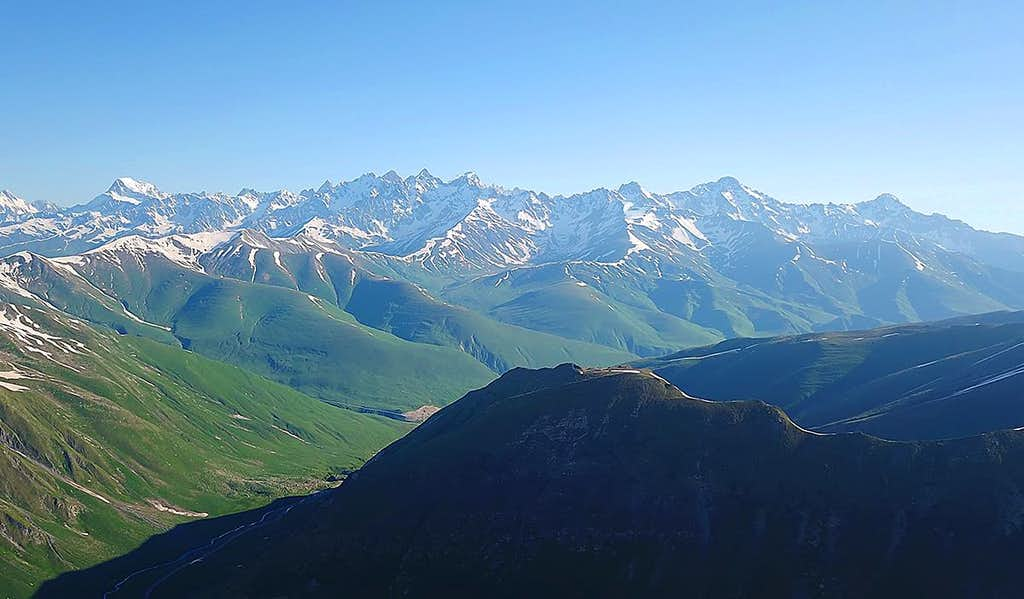 Ossetian part of the Main Caucasus Range