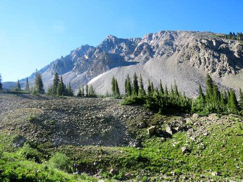 False summits of Mount Daly