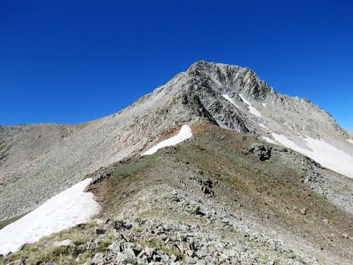 Mount Daly from 12280 ft