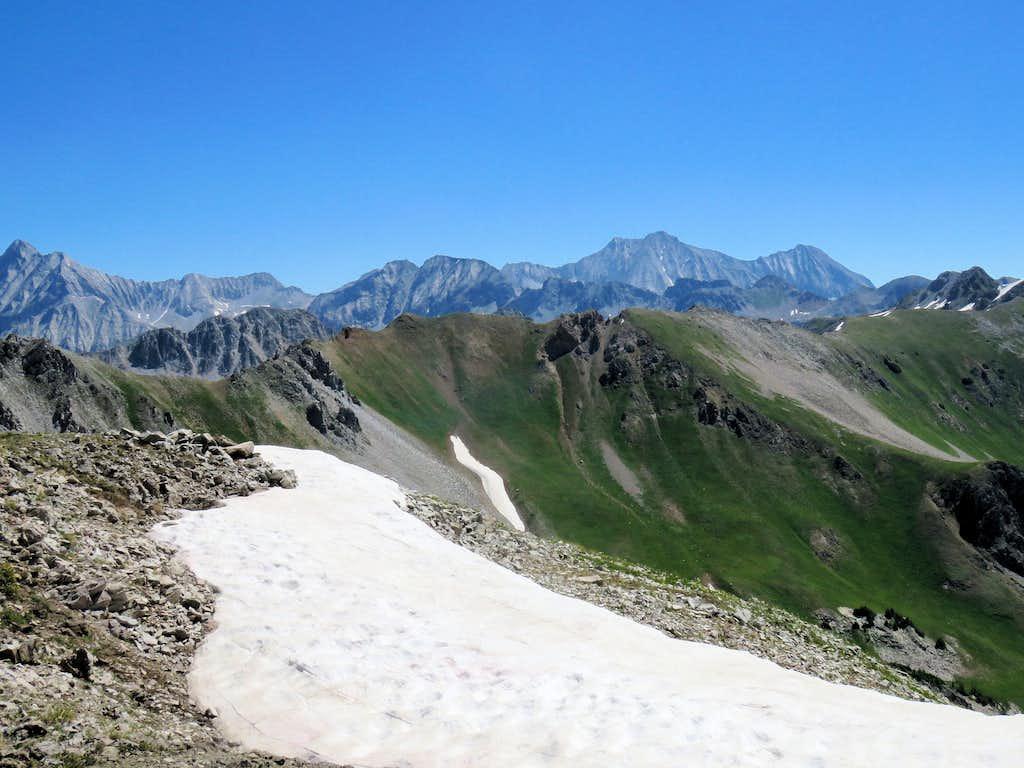 Capitol Peak, Mt. Snowmass & Hagerman Peak