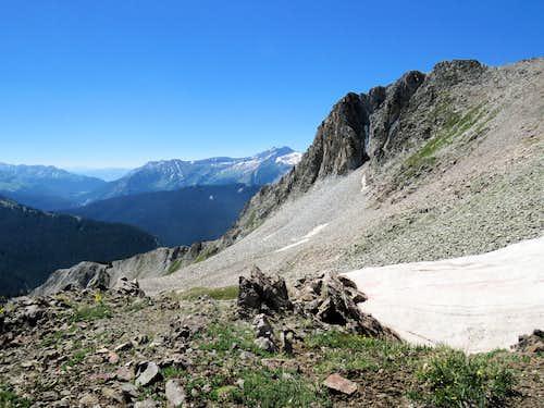 View of Schofield Pass