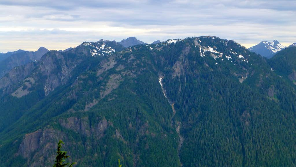 Troublesome Mountain and Double Toil from Frog Mountain