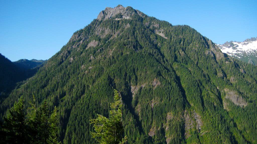 Bear Mountain from Troublesome Mountain SE Ridge