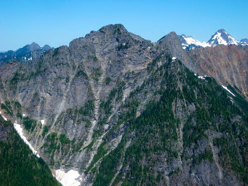 Hubbart Peak from Troublesome Mountain