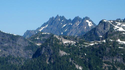South Gemini Peak from Troublesome Mountain