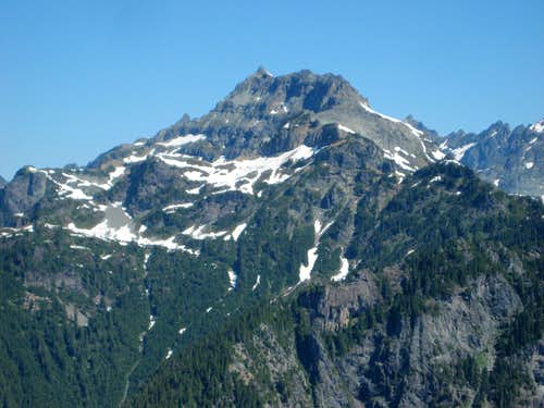 Columbia Peak from Troublesome Mountain