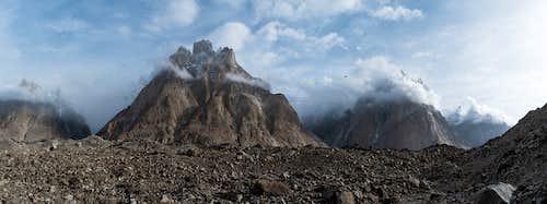 Baltoro glacier in Khoburtse