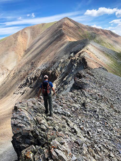 Ridge between C.T. and Gudy Peak
