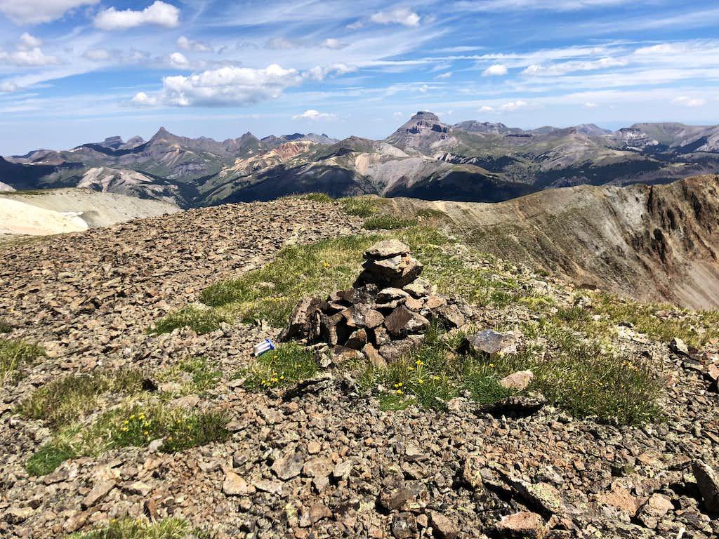 Gudy Peak summit