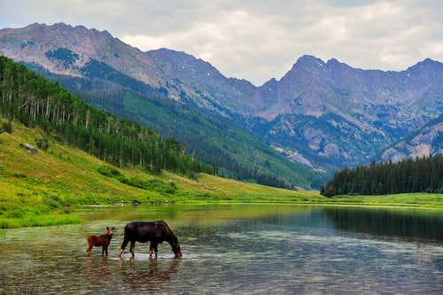 Piney Lake, Gore Range