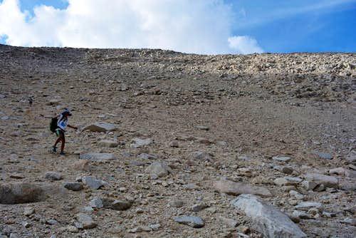 Descending the Dreaded Sandhill