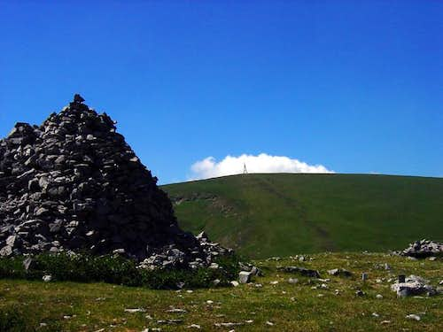 Gorbea from the summit of...