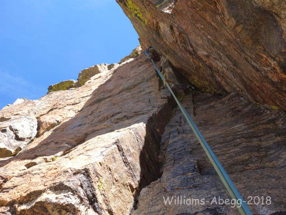 1st Pitch (crux of the route)
