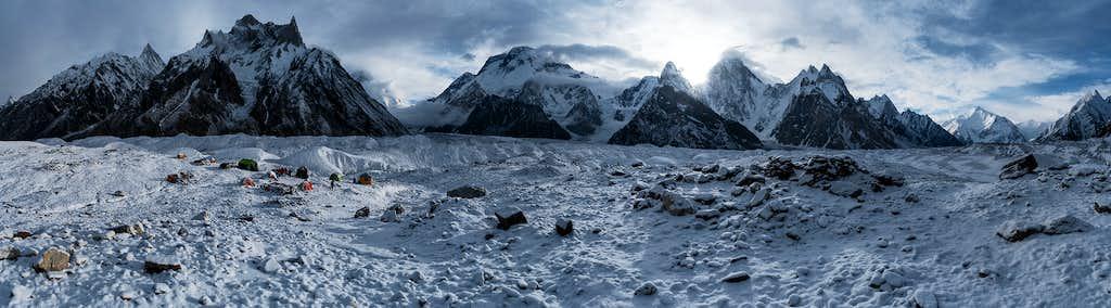Baltoro glacier in concordia