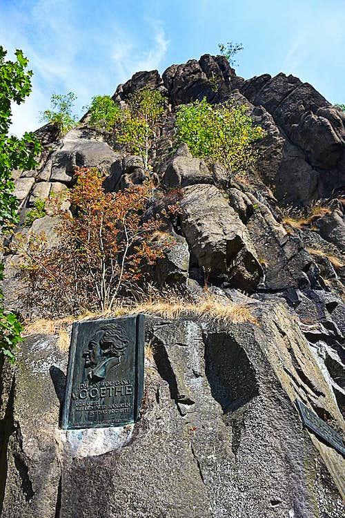 Goethe's Rock