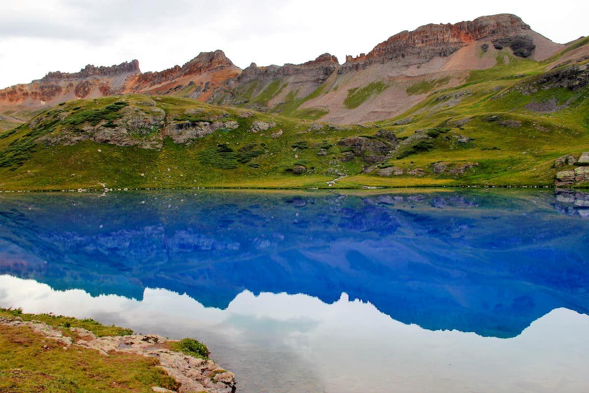 Pilot Knob from Ice Lake : Photos, Diagrams & Topos : SummitPost