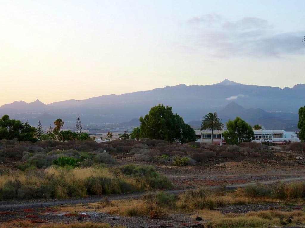 El Teide from Las Galletas