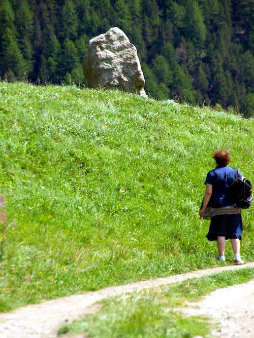 First boulder-signal from Gimillan